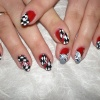 Роспись на натуральных ногтях-7