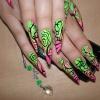 Нарощенные ногти-25