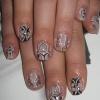 Роспись на натуральных ногтях 12