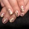 Роспись на натуральных ногтях 13