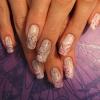 Роспись на натуральных ногтях-6