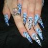Нарощенные ногти-34