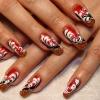 Нарощенные ногти-54
