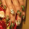 Нарощенные ногти-29