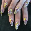 Нарощенные ногти-48
