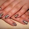 Роспись на натуральных ногтях-2