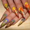 Нарощенные ногти-57