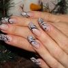 Нарощенные ногти-17