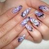 Нарощенные ногти-59