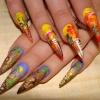 Нарощенные ногти-72