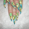 Нарощенные ногти-32